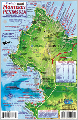 Monterey Peninsula Fish Card