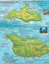 Channel Islands National Park Dive Map