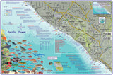 Orange County Coast Dive Map