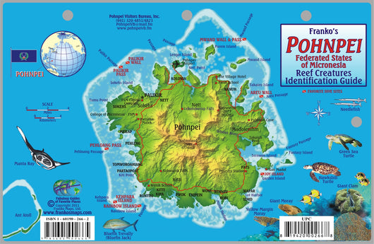 Pohnpei Fish Card