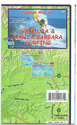 Ventura & Santa Barbara Surfing Map