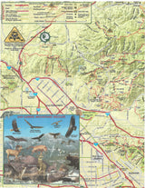 San Gabriel Mountains Trail Map