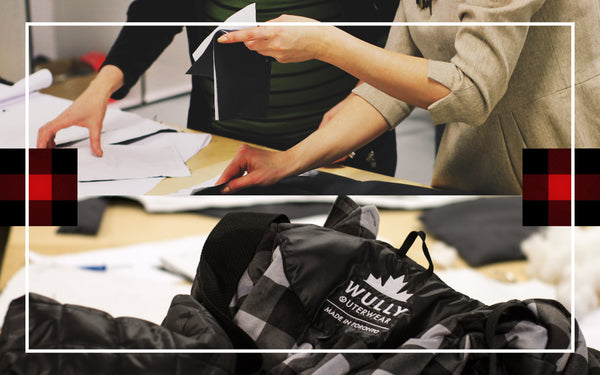 About Wully Outerwear Banner | Manufacturing