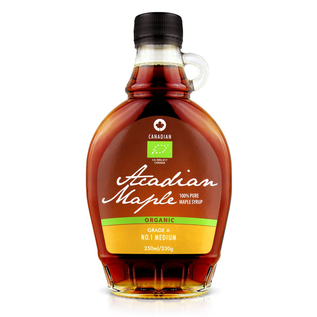 Acadian Organic Pure Maple Syrup No.1 Medium - 250ml
