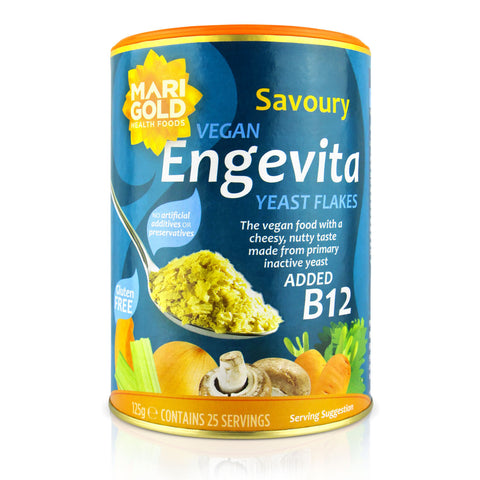 Marigold Engevita Nutritional Yeast Flakes With Vitamin B12 - 125g