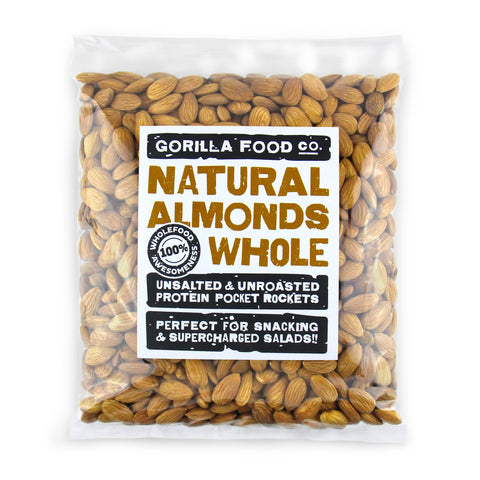 Natural Almonds Whole