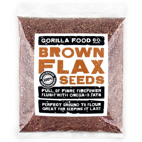 Brown Flax Seeds Whole (Linseed)