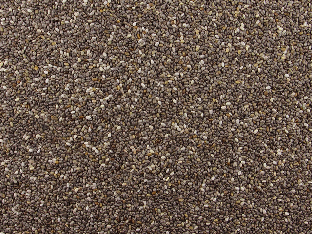 Gorilla Food Co. Whole Dark Chia Seeds Raw 25kg Bulk Wholesale