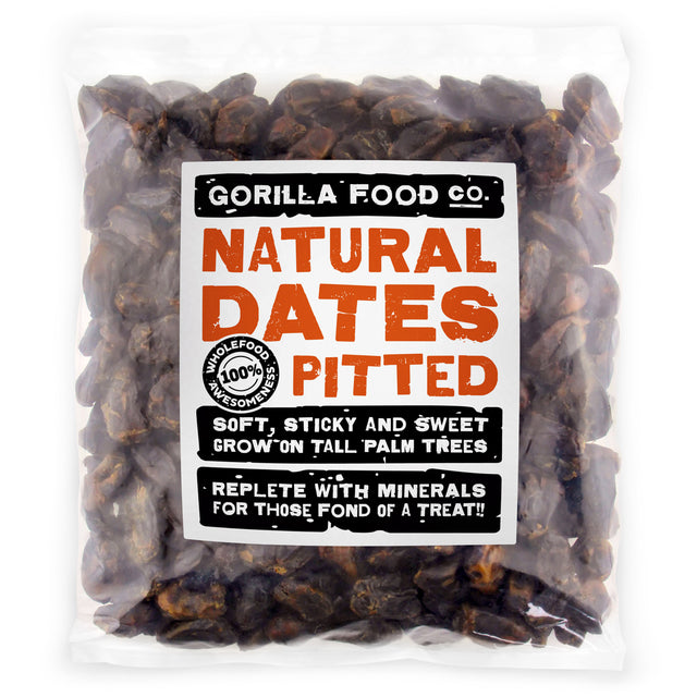 Gorilla Food Co. Natural Dates Whole Pitted