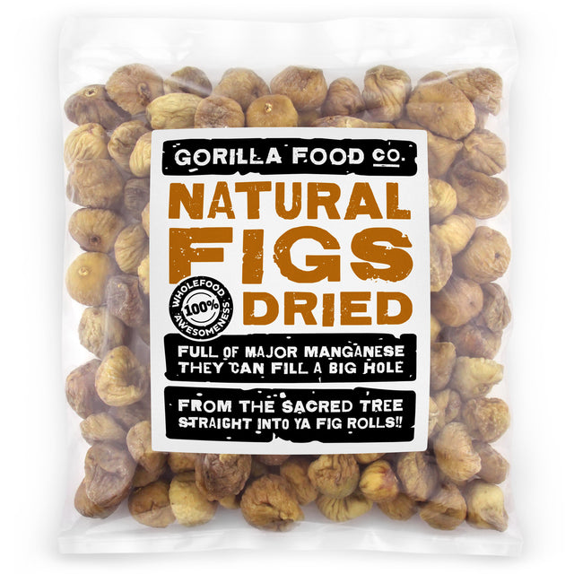Gorilla Food Co. Natural Whole Dried Figs