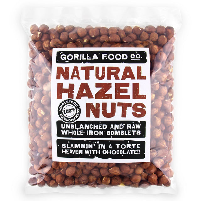 Natural Hazelnuts Whole