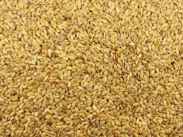 Gorilla Food Co. Linseeds Flax Seed Golden Whole 25kg Bulk Wholesale