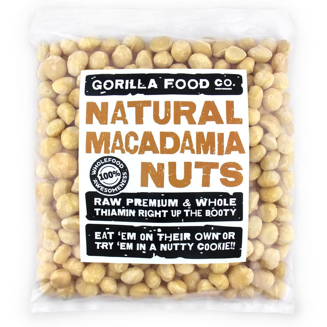 Natural Macadamia Nuts Whole