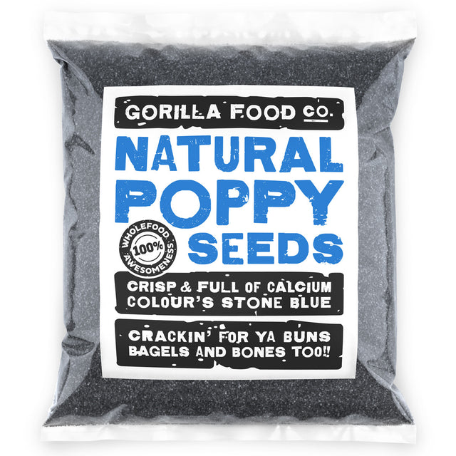 Natural Poppy Seeds Blue