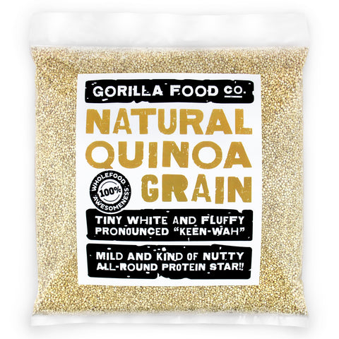 Natural Quinoa Grain White