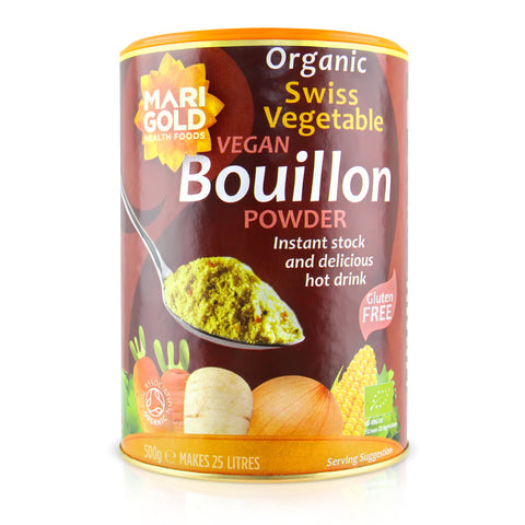 Marigold Organic Swiss Vegetable Bouillon Powder - 500g