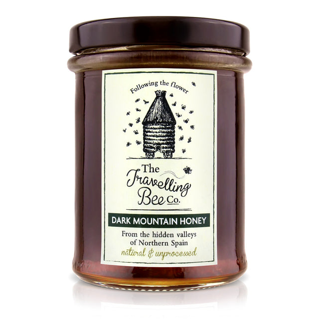 Travelling Bee Co. Natural Spanish Mountain Honey - 227g