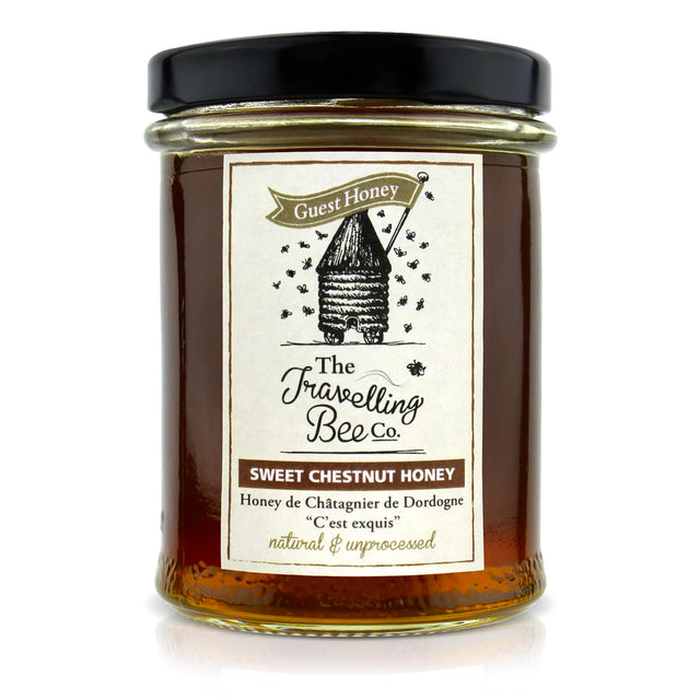 Travelling Bee Co. Natural Sweet Chestnut Honey - 227g