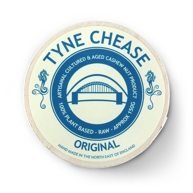 Tyne Chease Original Plant-Based Vegan Cheese - 150g