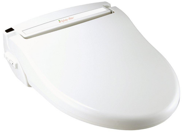 INFINITY BIDET ROUND XLC-3000 Toilet Seat, Remote Control, Twin Nozzles, Endless Warm Water Wash