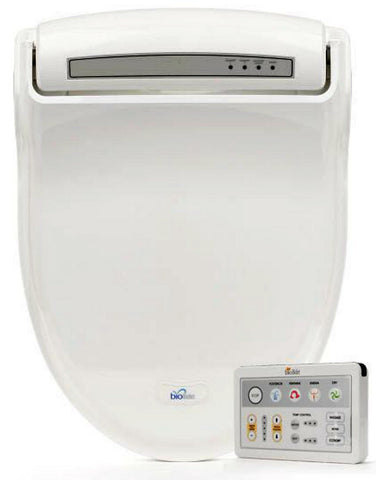 BIO BIDET BB-1000 ELONGATED Electronic Toilet Seat Jet Wash - Dryer - Deodorizer - Enema Wash - Remote Control
