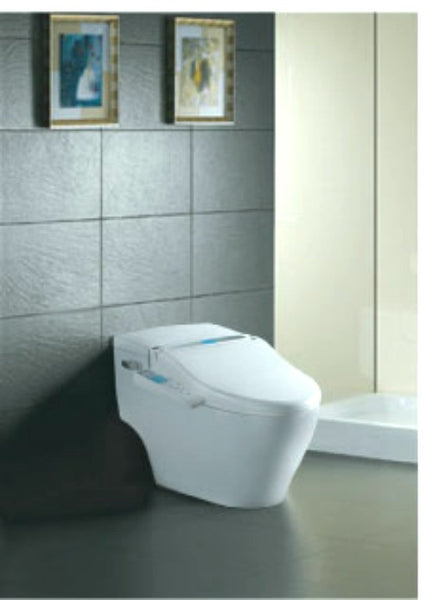 SPALOO BIDET ELONGATED Classic II Electronic Toilet Seat, Side Panel Controls, Personal Hygiene Jet Wash, Endless Warm Water, Air Dryer
