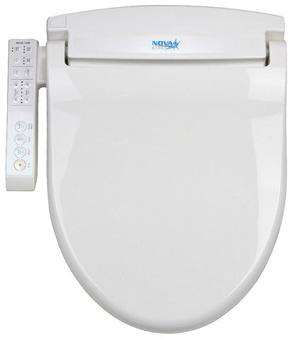 NOVA 1000 BIDET Small Child, Special Needs Adults Electronic Toilet Seat, Endless Instant Warm Water, Side Panel Control