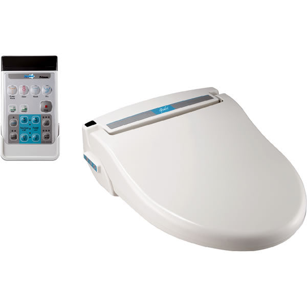 SPALOO BIDET ELONGATED Primus Electronic Toilet Seat, Remote Control, Jet Hygiene Wash, Endless Warm Water, Air Dryer