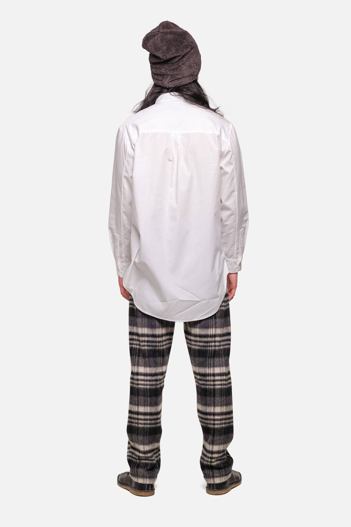 SHOREDITCH TUNIC IN WHITE POPLIN - Fortune Goods