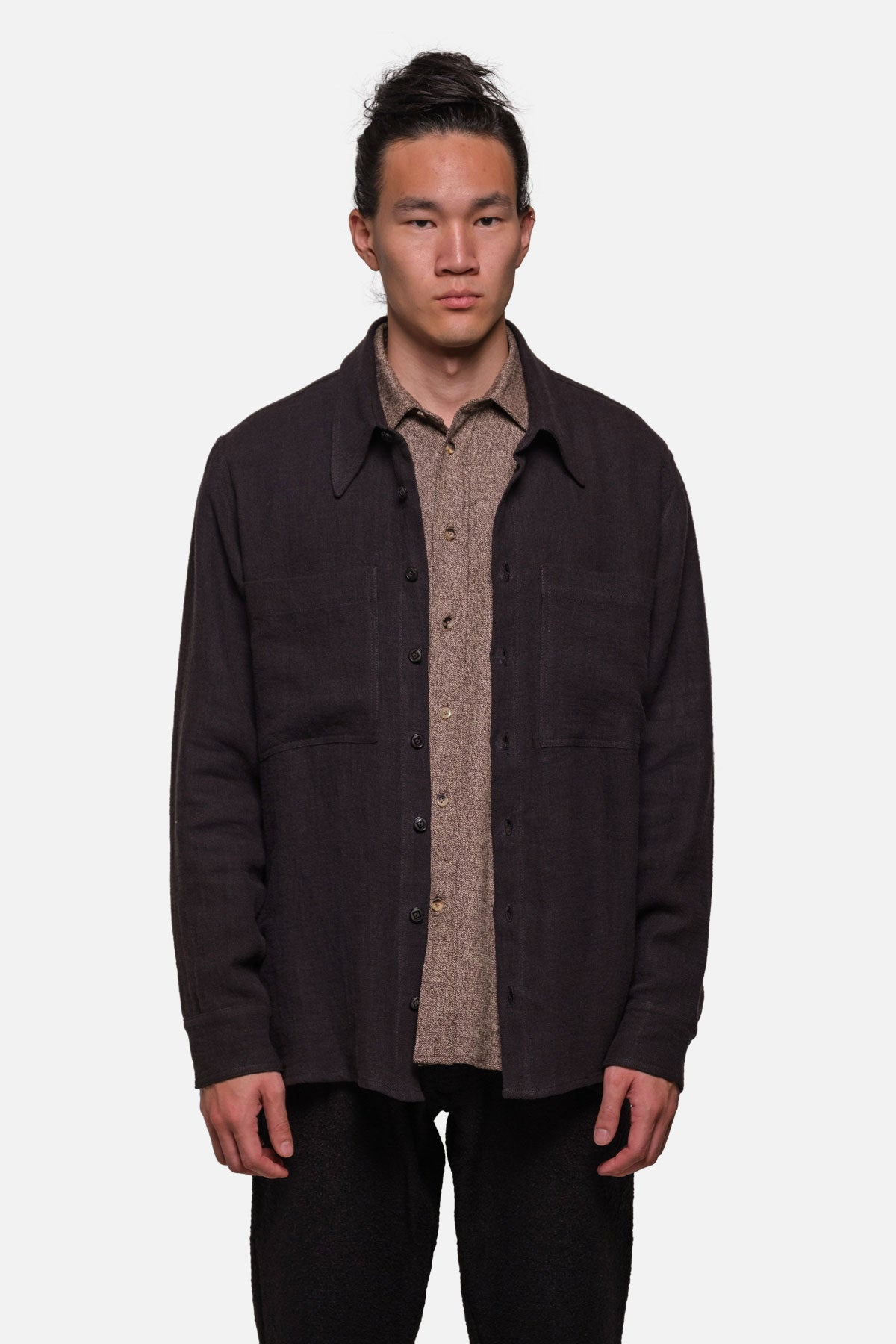 BROADWAY SHIRT IN BLACK - Fortune Goods