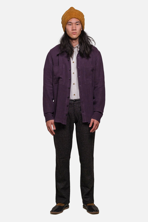 BROADWAY SHIRT IN PURPLE - Fortune Goods