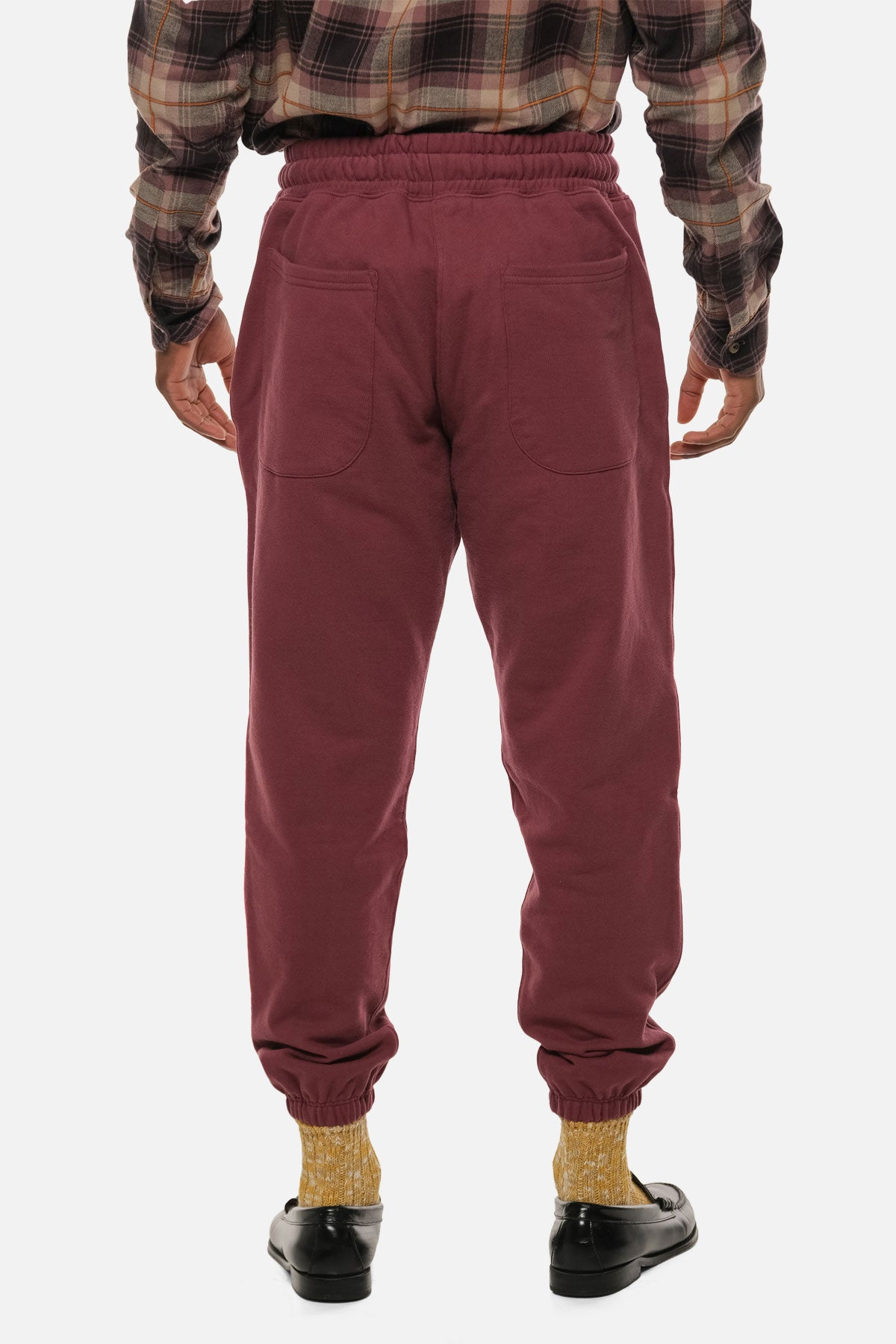 MORTON AVE PANT IN CRIMSON - Fortune Goods