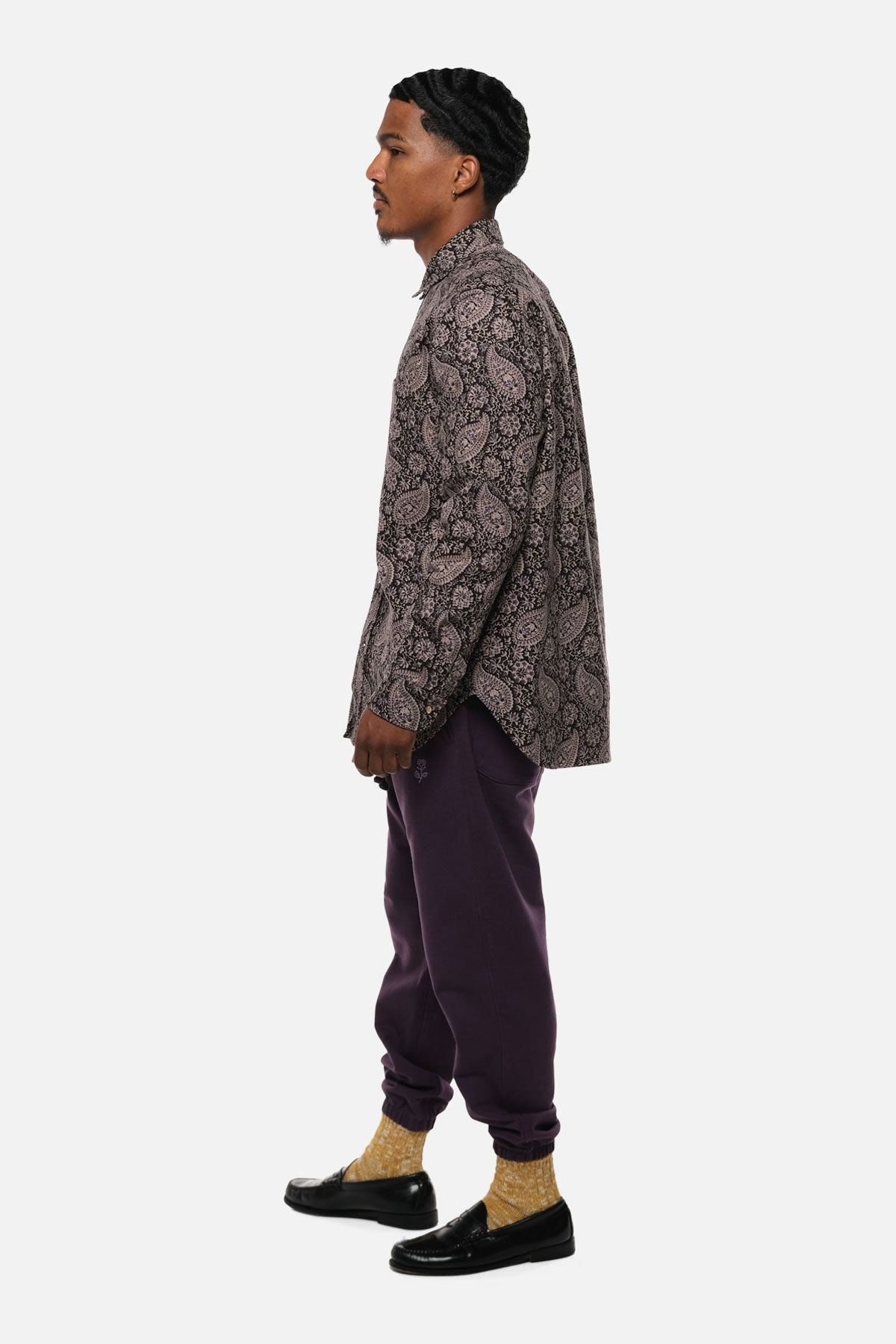 1905 SHIRT IN PURPLE PAISLEY - Fortune Goods