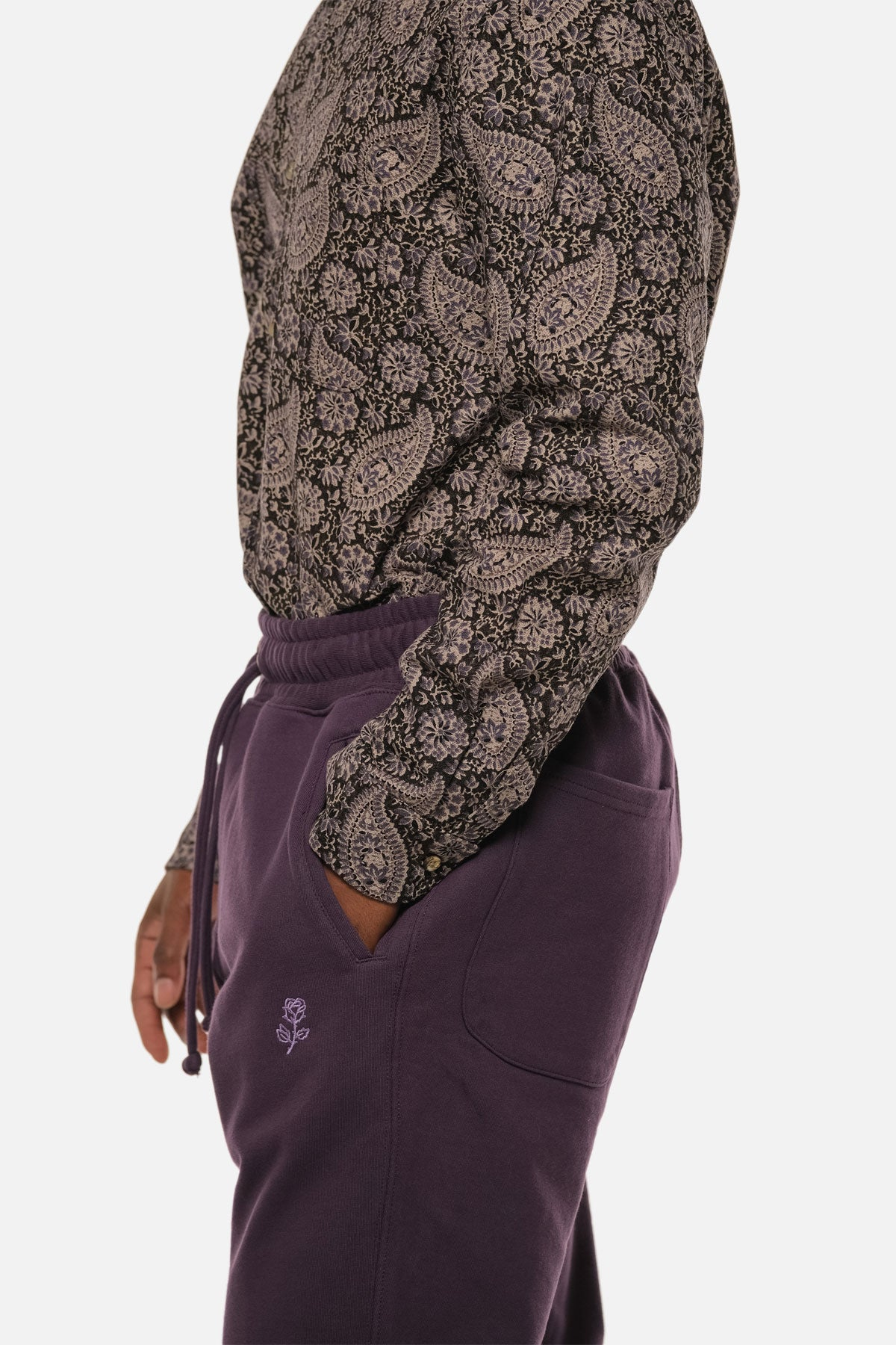 MORTON AVE PANT IN PURPLE - Fortune Goods