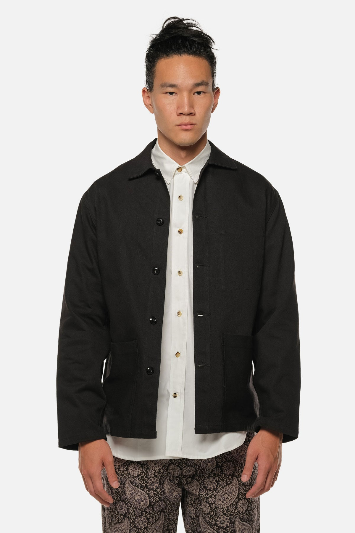 STATION JACKET IN BLACK - Fortune Goods