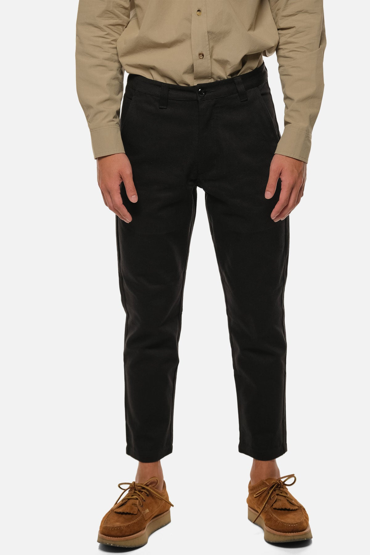 ATLAS TROUSER IN BLACK - Fortune Goods