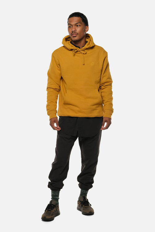 MORTON AVE HOODIE IN GOLD - Fortune Goods
