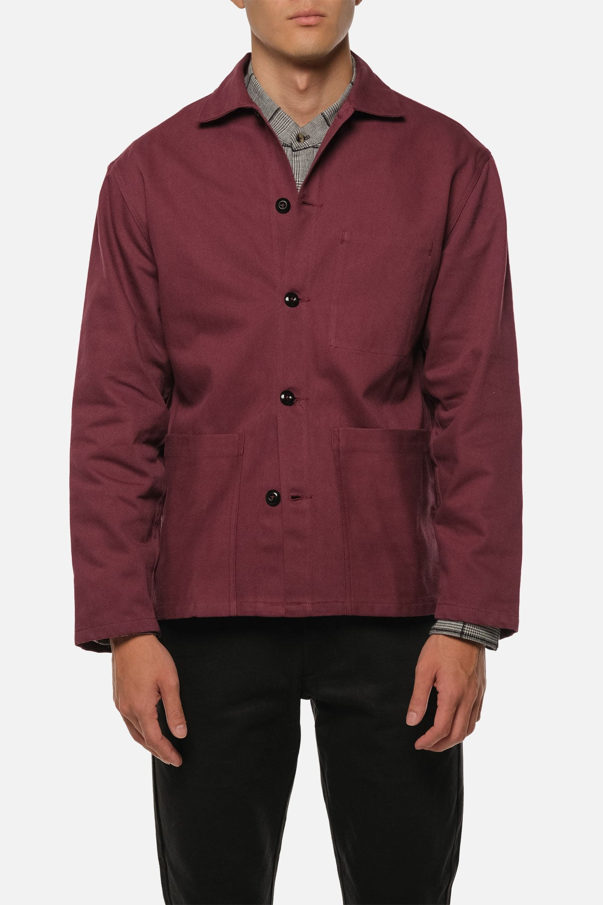 STATION JACKET IN CRIMSON - Fortune Goods
