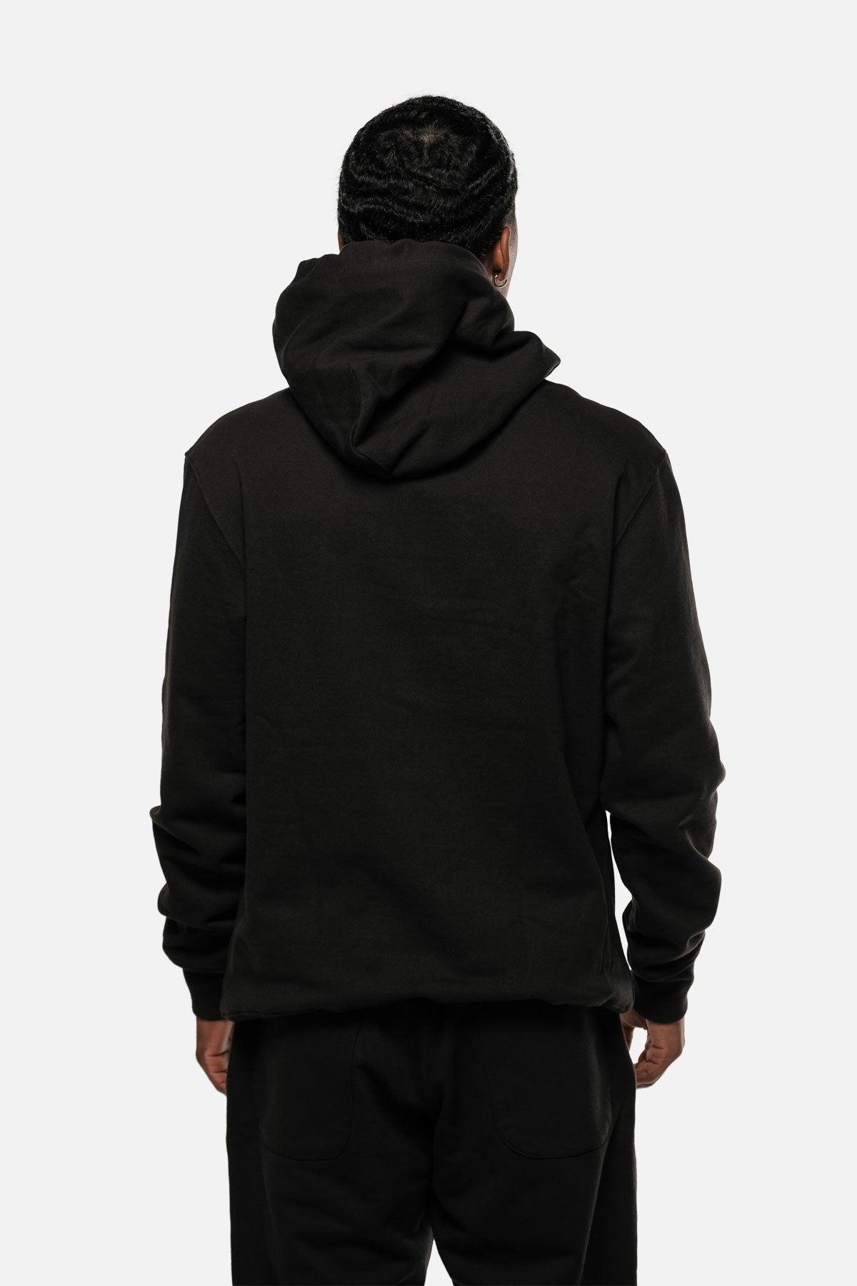 MORTON AVE HOODIE IN BLACK - Fortune Goods