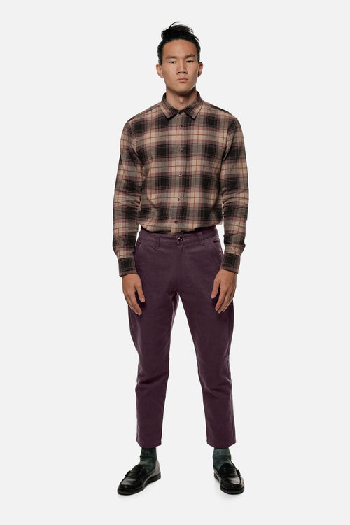 ATLAS TROUSER IN PURPLE - Fortune Goods