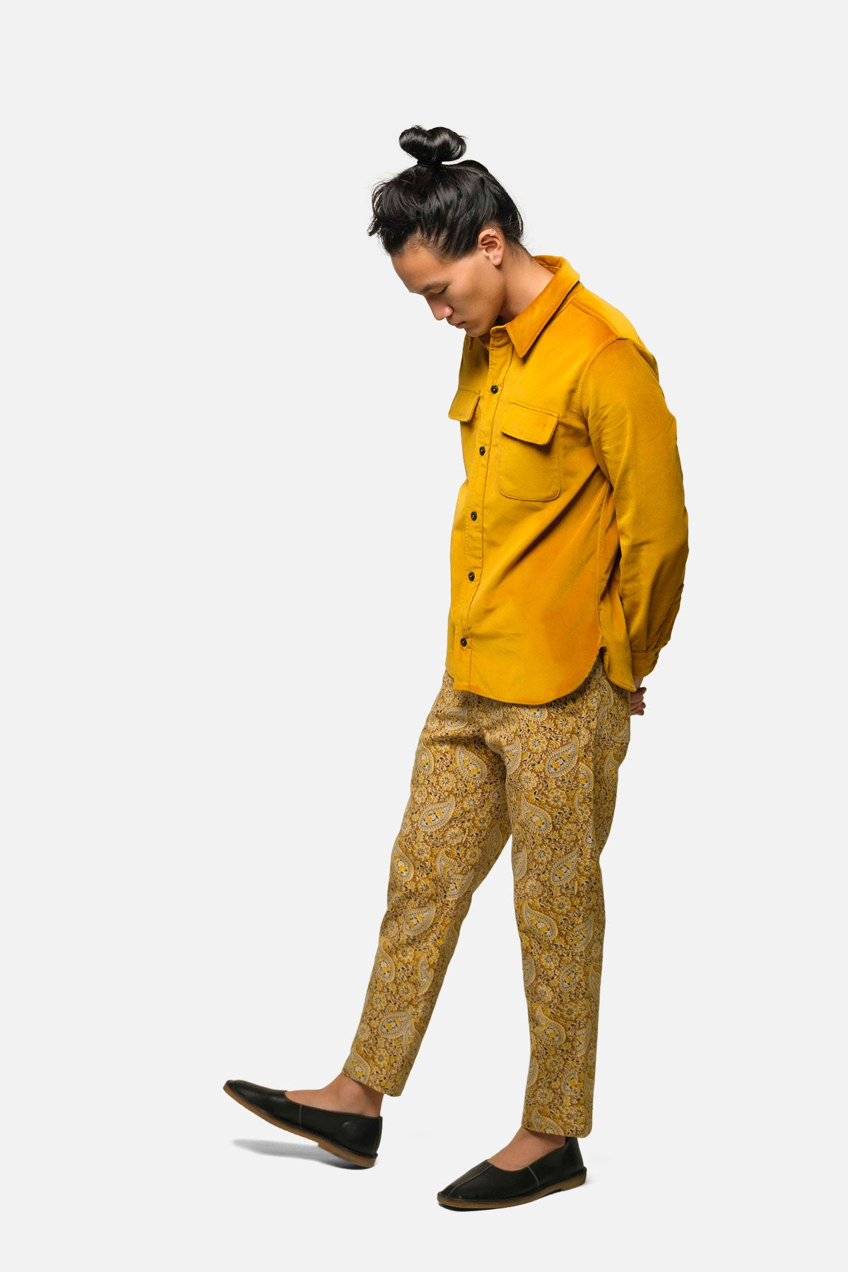 CPO IN GOLD VELVET - Fortune Goods
