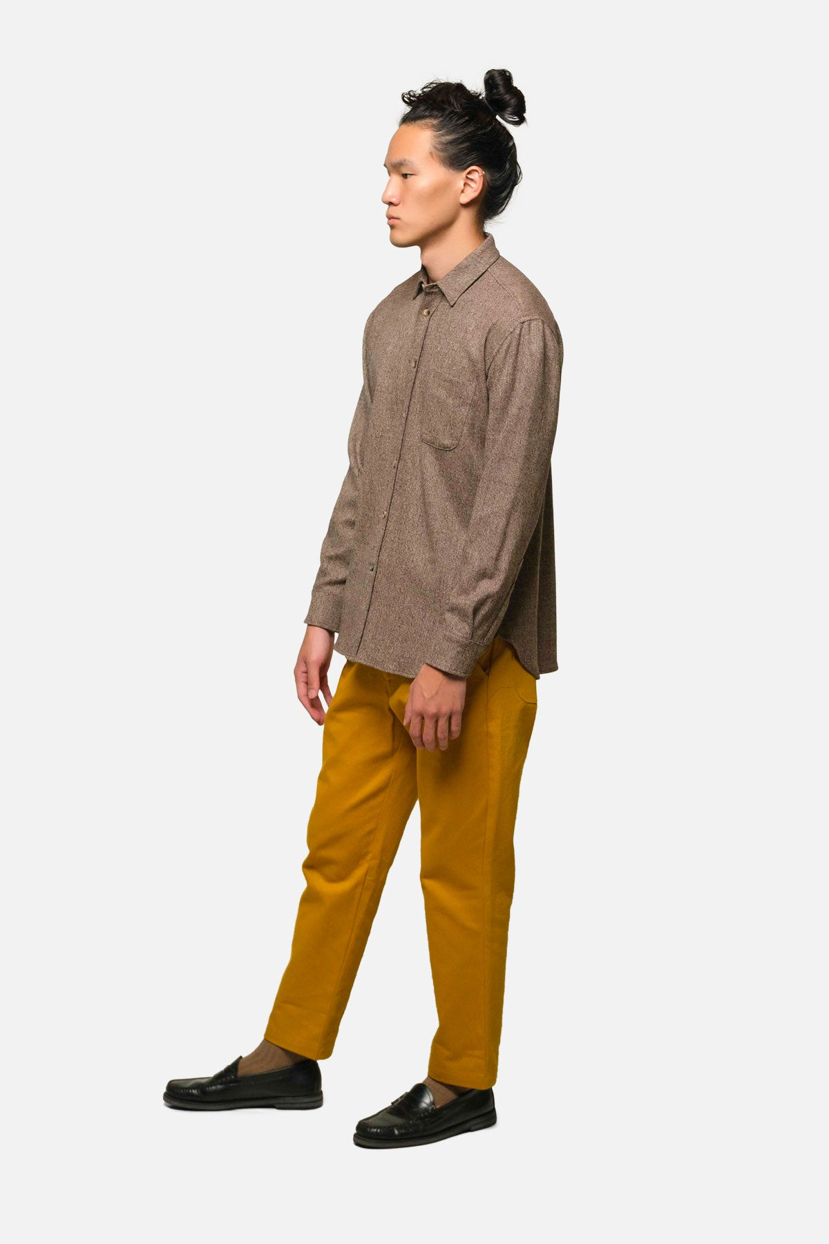 ATLAS TROUSER IN GOLD - Fortune Goods