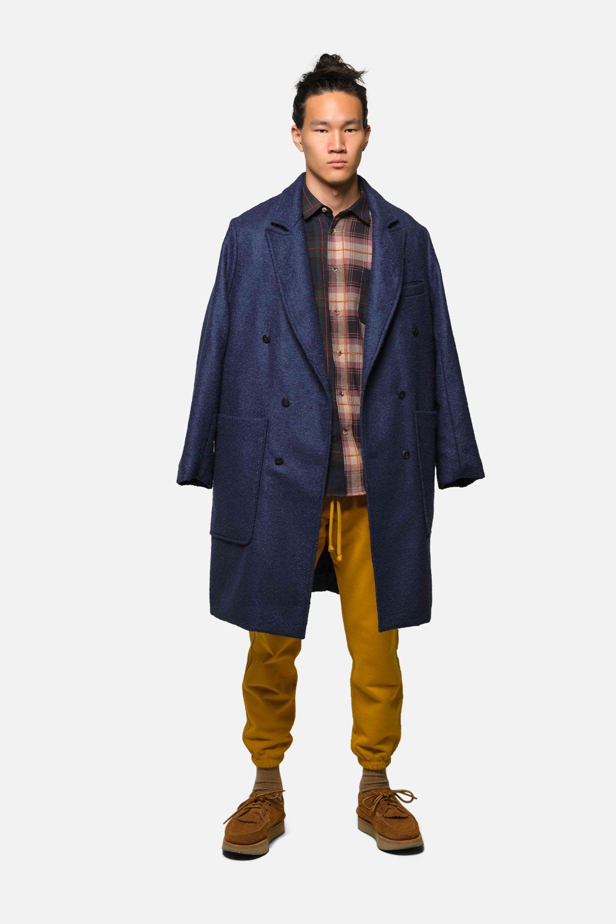 1905 IN NAVY-PURPLE IN PLAID MIX - Fortune Goods