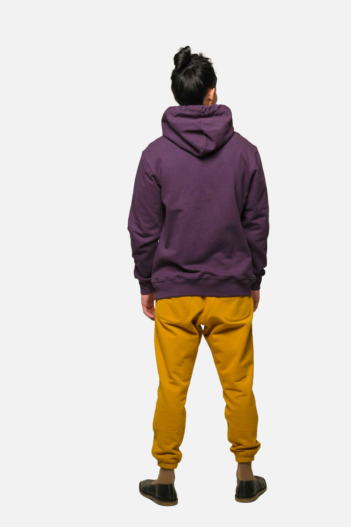 MORTON AVE HOODIE IN PURPLE - Fortune Goods