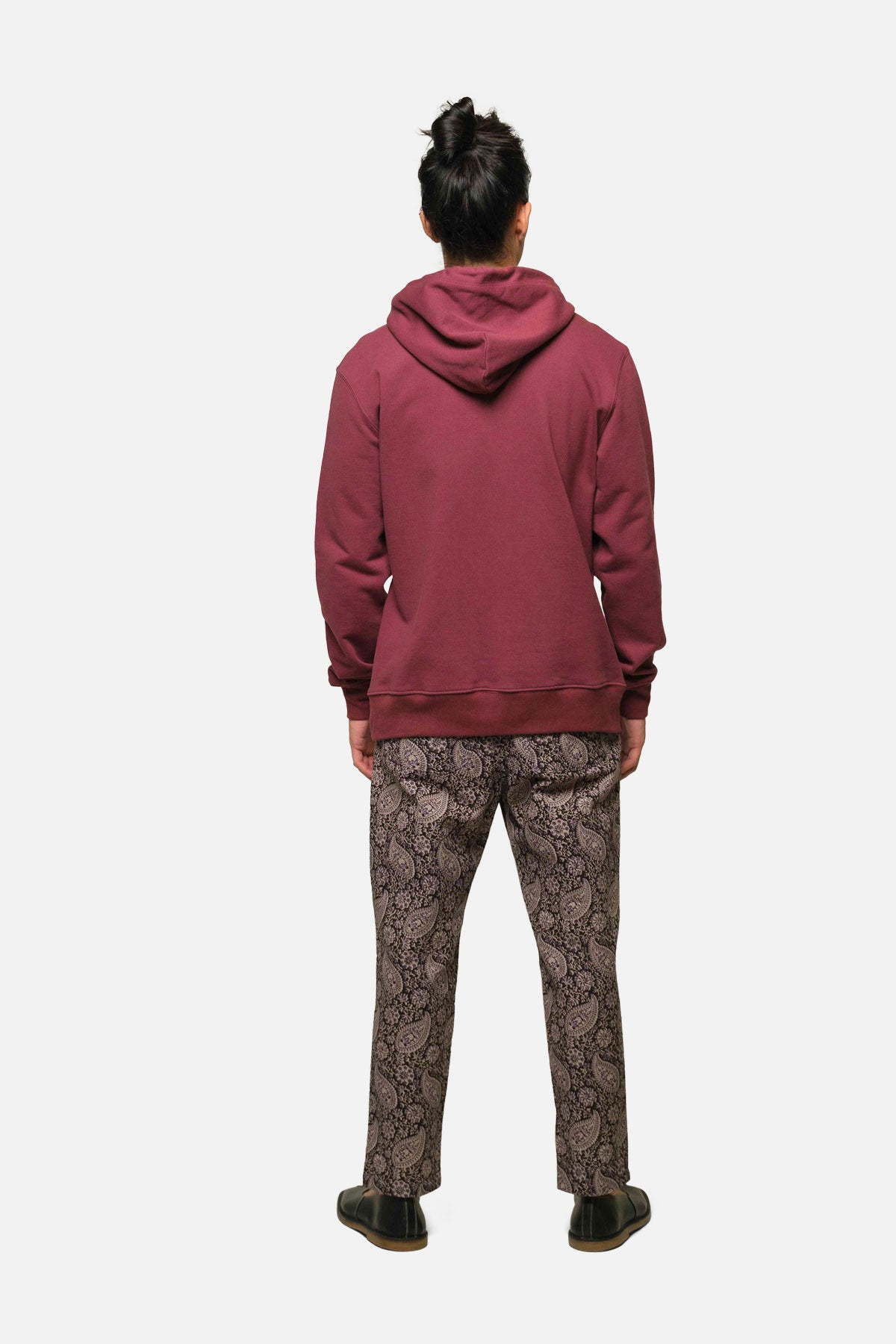 MORTON AVE HOODIE IN CRIMSON - Fortune Goods