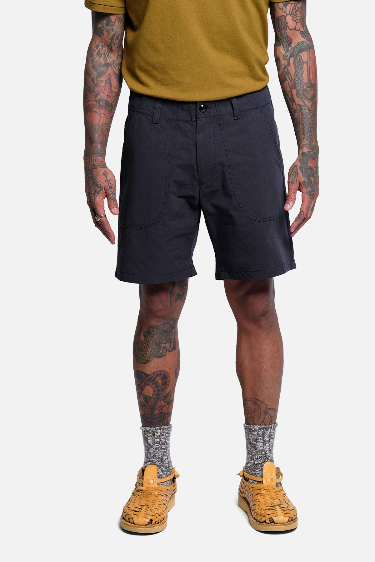 OG SHORT IN NAVY RIPSTOP - Fortune Goods
