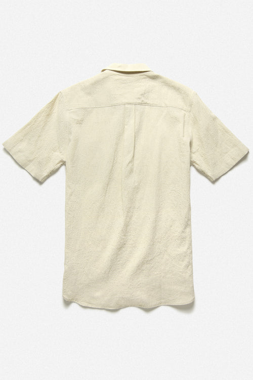 POPOVER SHIRT IN NATURAL - Fortune Goods