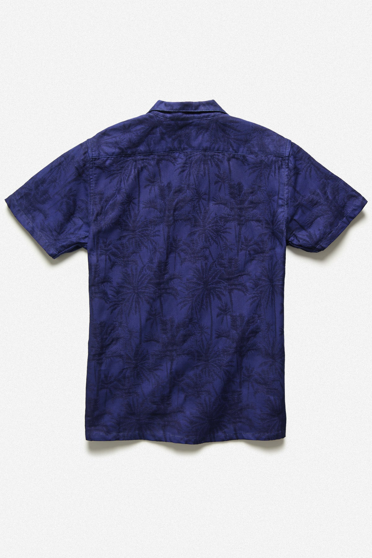 CUBA SHIRT IN INDIGO PALM - Fortune Goods