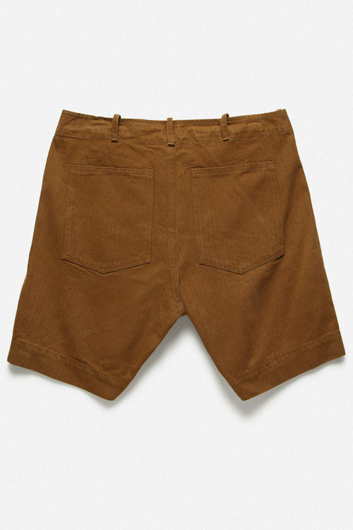 107 SHORT IN TOBACCO HERRINGBONE TWILL - Fortune Goods