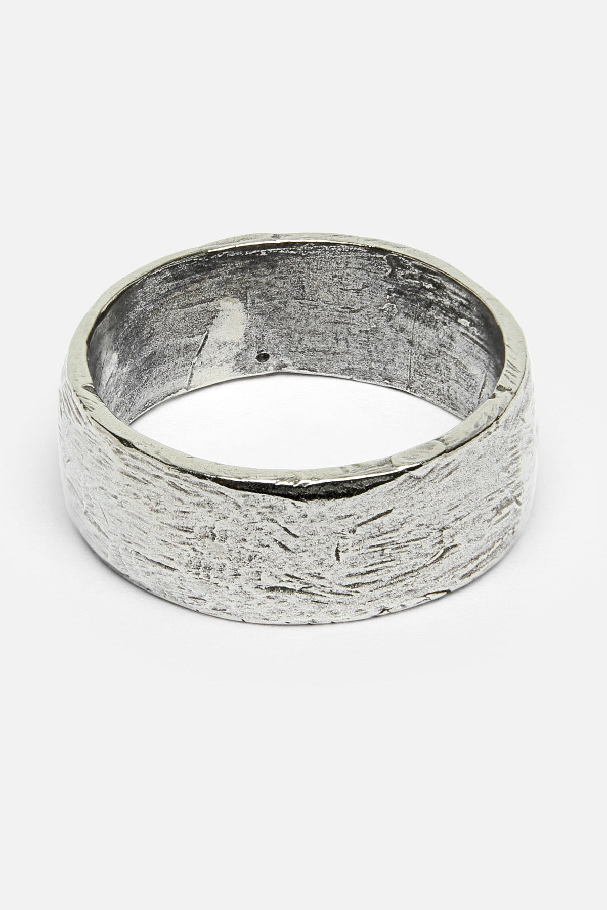 FORTUNE BAND RING IN WHITE BRONZE - Fortune Goods
